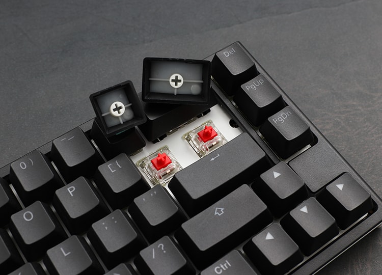 ducky one 2 sf Cherry mx switches